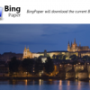 Automatically set your wallpaper to the daily Bing image