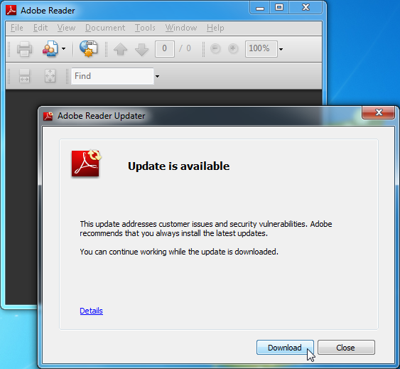 download adobe updater