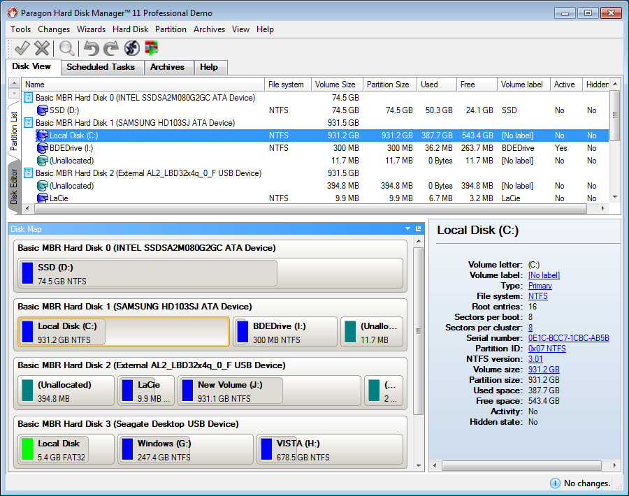 Paragon Hard Disk Manager for Windows