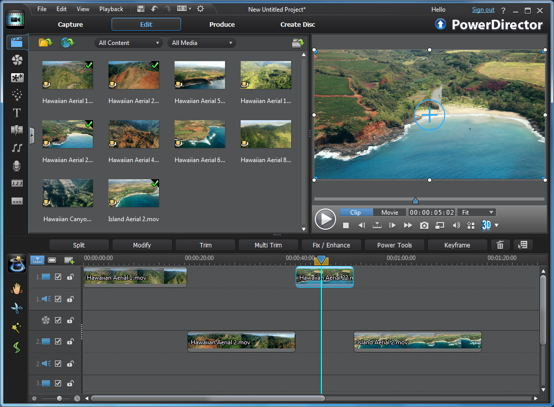 CyberLink PowerDirector 10 is the latest edition of this popular, versatile consumer video editor. Top of the new features list this time around is PowerDirector 10's excellent 3D editing support.