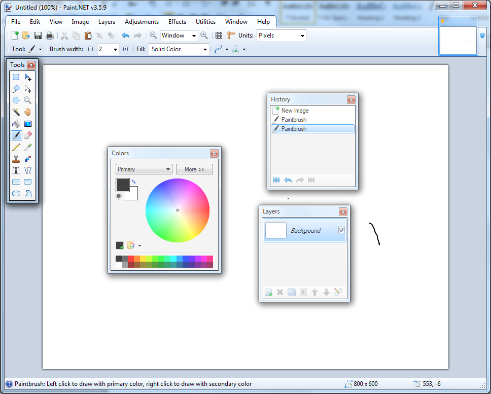 Free paint tool programs Paint software online