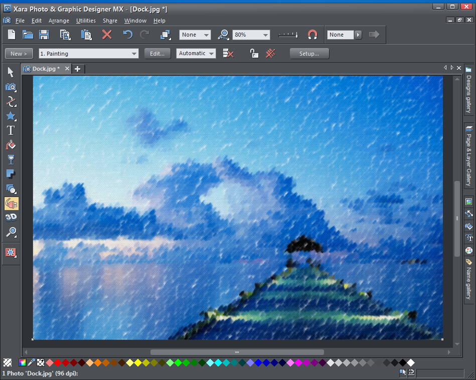 Review: Xara Photo & Graphic Designer MX 8.1 From