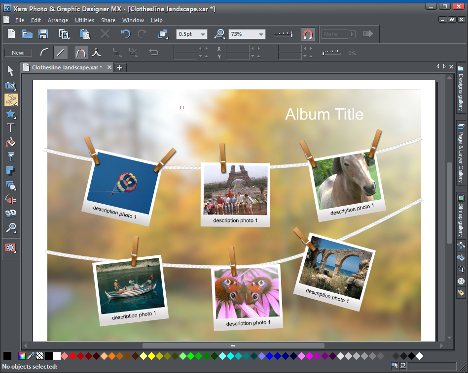 Review xara photo graphic designer mx 8 1 from softwarecrew software reviews news tips - Home graphic design software ...