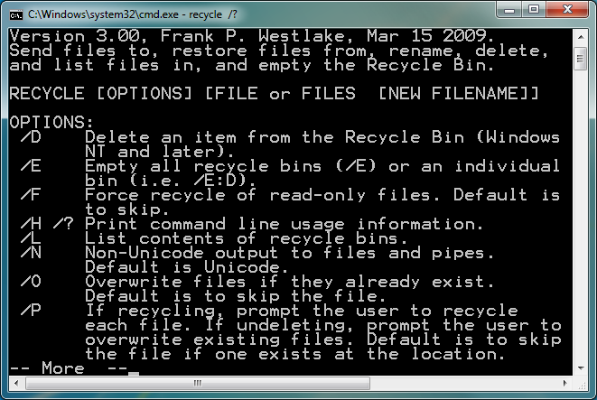 Deleting lines inside a file without opening the file
