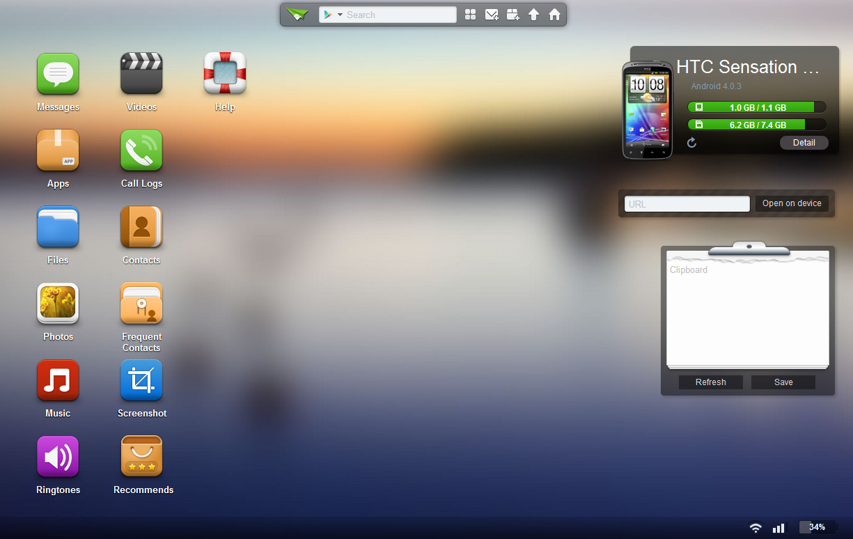 Airdroid Lets You Manage Your Android Device In A Browser