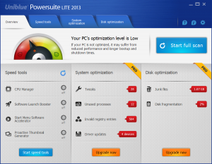 Uniblue Powersuite 2013