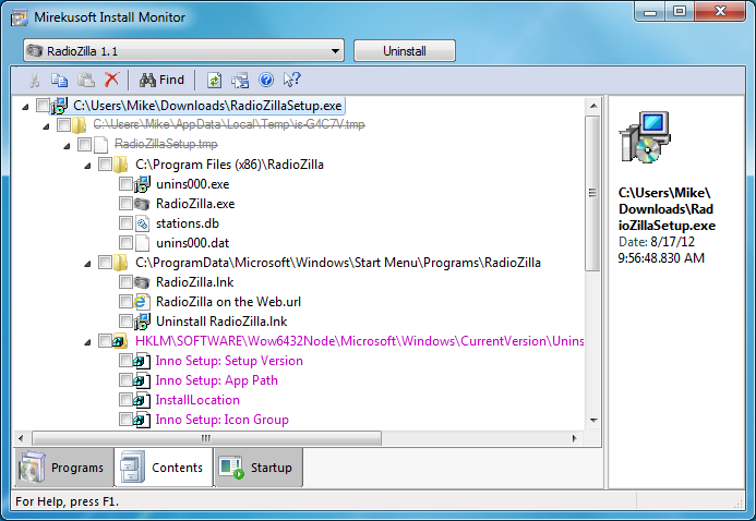 Mirekusoft Install Monitor: cleanly remove any application with a ...