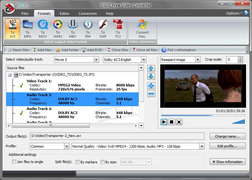new any video converter 2012 free