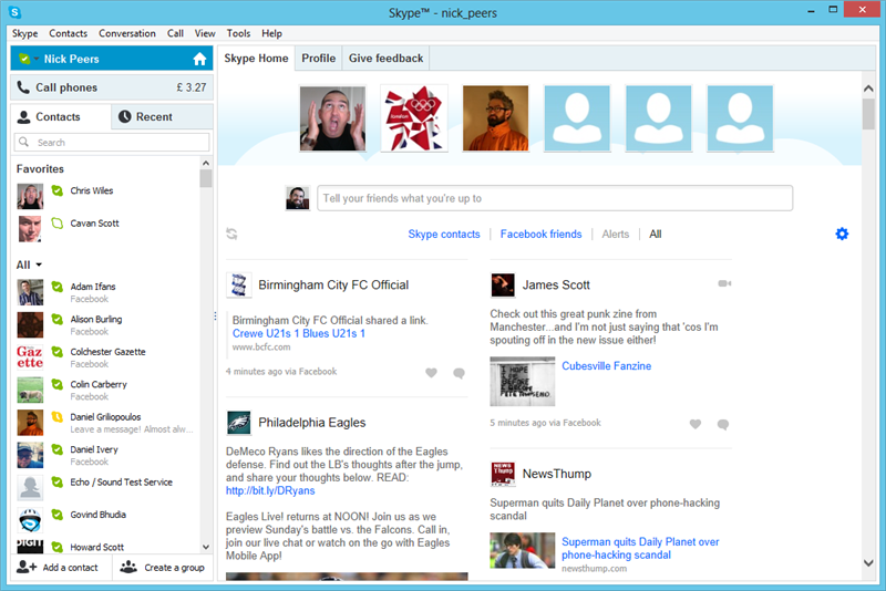 Skype 6.0 for Mac and Windows released, adds Messenger and