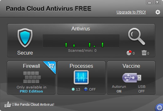 Panda Cloud Antivirus 2.1.1 gains Windows 8 compatible logo, squashes