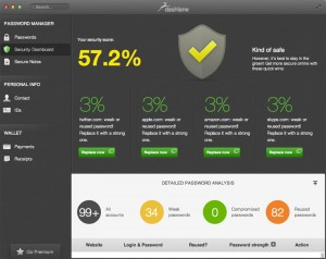 Dashlane's new Security Dashboard