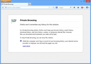 Private Browsing