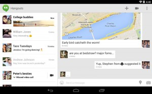 Google Hangouts 2.0 for Android