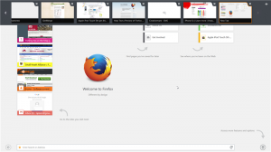 Firefox Touch for Windows 8