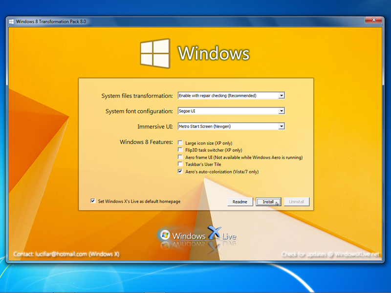 how to install xp service pack 3