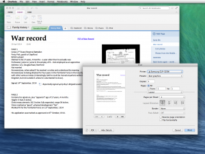 OneNote for Mac 15.1