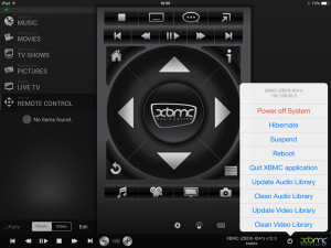 XBMC Remote 1.5.1 for iOS