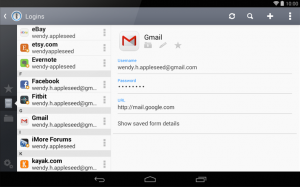 1Password for Android 4.0