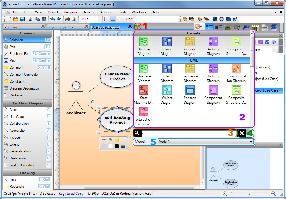 use case diagram software