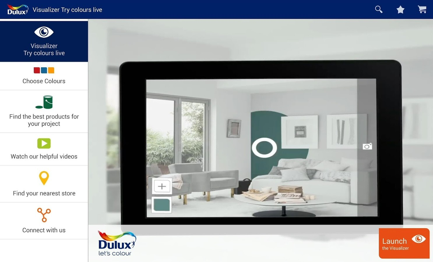 View your rooms in any colour with dulux visualizer from for Room visualizer