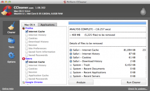 CCleaner for Mac 1.08