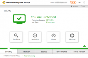 Norton Security with Backup 2015