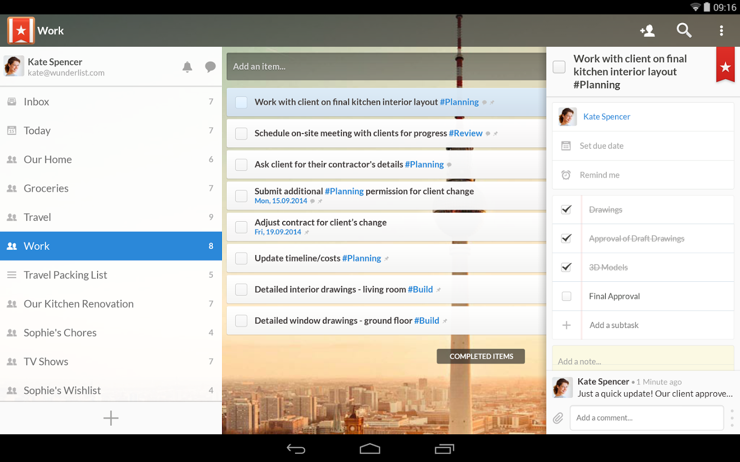 Wunderlist 3.0 released, adds real-time sync and refreshed ...