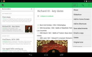 Evernote for Android 6.0