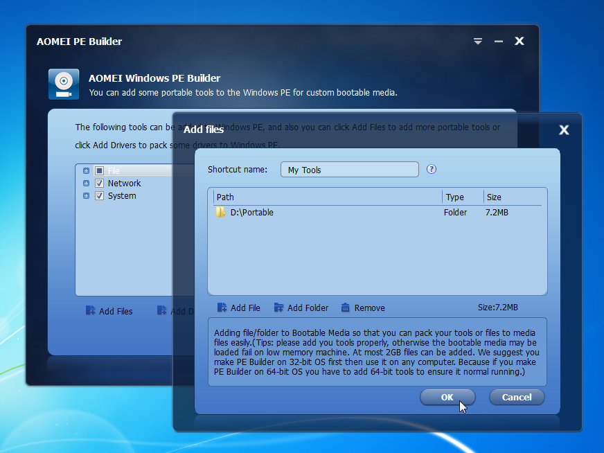 Need user-friendly bootable recovery media? AOMEI PE Builder Free 1.0 has your back from ...