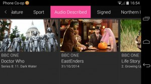 BBC iPlayer for Android 4.4
