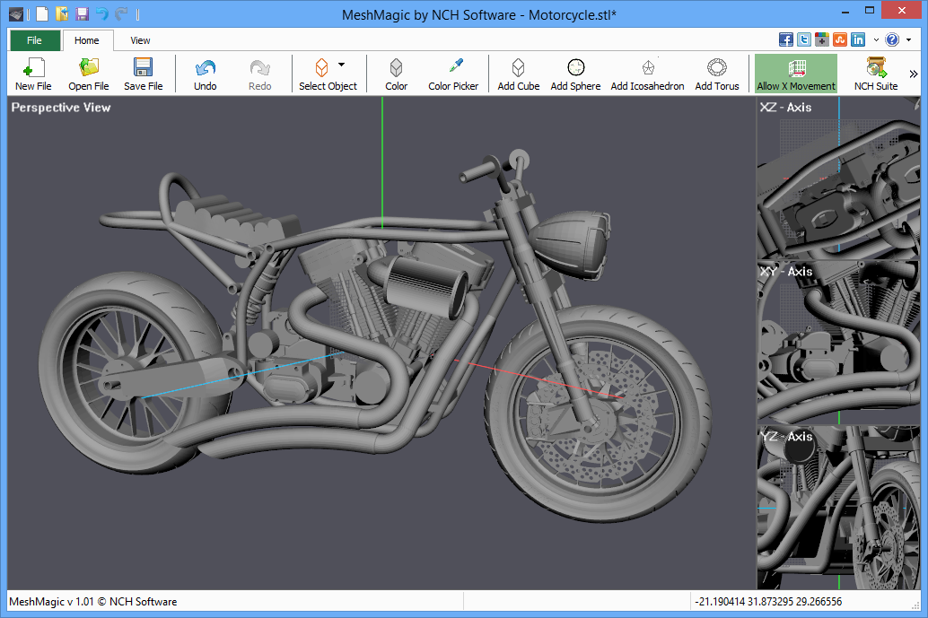 Meshmagic 3d Is A Simple Stl Viewer And Editor From