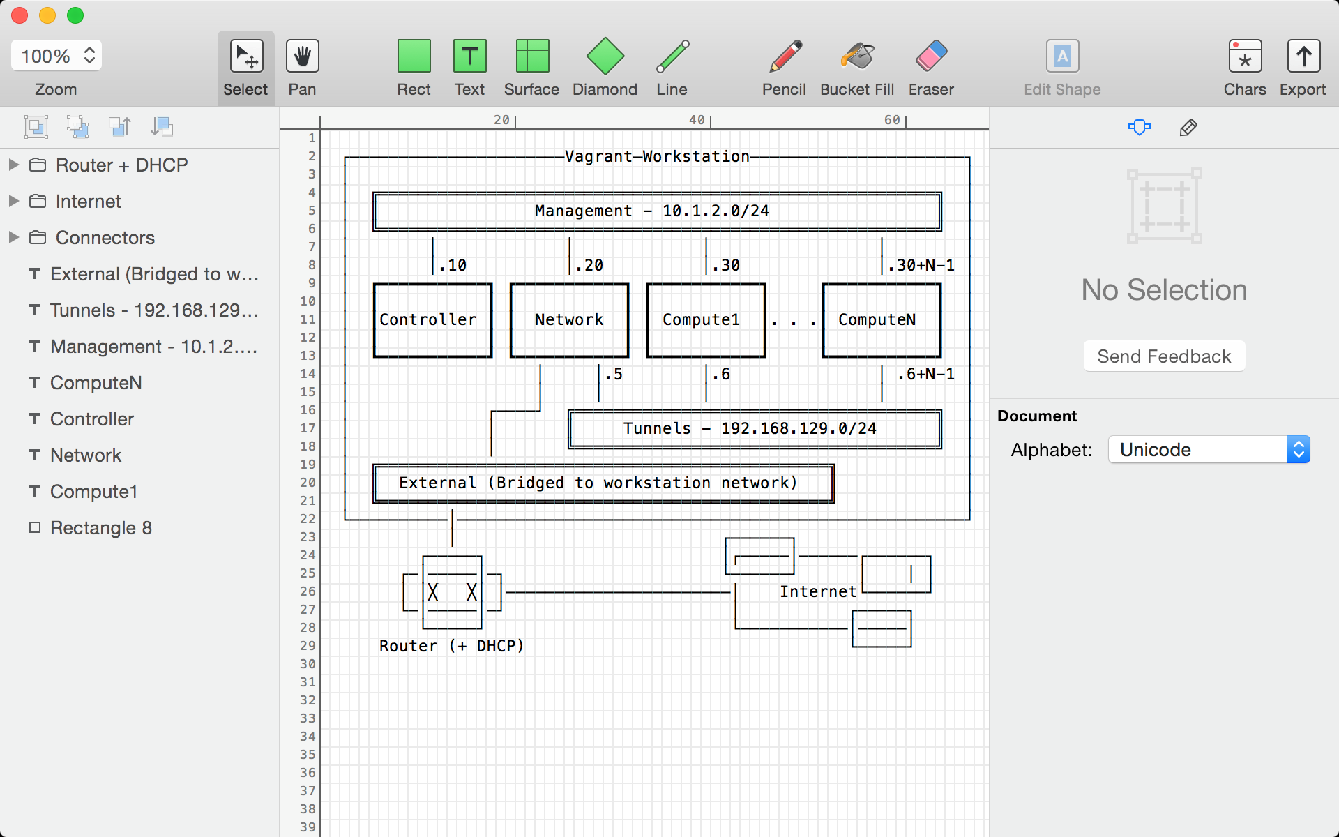 Monodraw is the Visio of ASCII art from Softwarecrew | Software ...