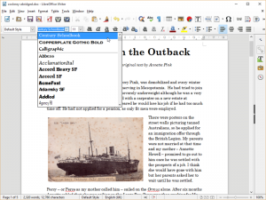 LibreOffice 5.0 Writer
