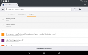 Firefox for Android 50.0
