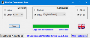 Firefox Download Tool