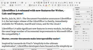 LibreOffice Writer for Mac