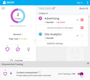 Ghostery 8.0