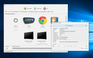 Ultimate Media Server supports a wide range of players including - from version 7 - Samsung 8-series TVs.