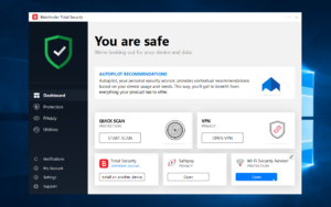 Bitdefender Total Security 2019 takes your PC's protection to the next level.